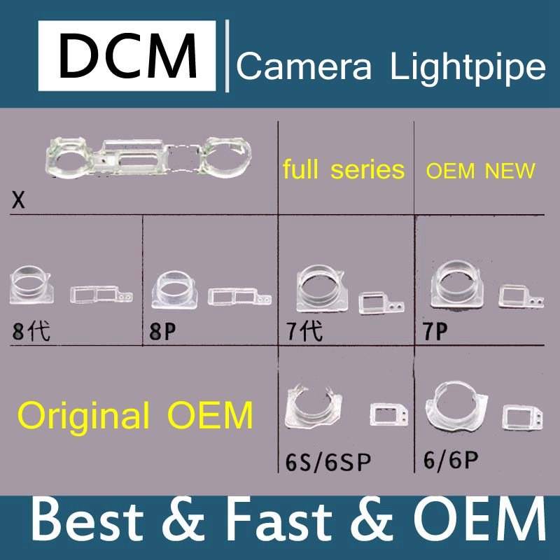 US $5 0 |DCM for iphone5 6 7 8 8p X Ambient Light Sensor Cover with Front  Facing Camera Lightpipe 20set-in Mobile Phone Flex Cables from Cellphones &