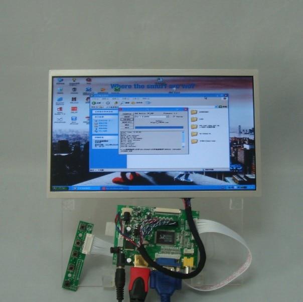 HDMI+VGA+2AV Driver board+10.1inch 1024*600lcd pane B101AW03 LTN101NT02 LP101WS1 vga 2av revering driver board 8inch 800 600 lcd panel ej080na 05b at080tn52