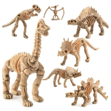 12pcs/set Jurassic World dinosaur fossil dinosaur model toys for children boys plastic action figures animals brinquedos kids