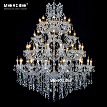лучшая цена Luxurious Large Crystal Chandelier Lighting Maria Theresa Crystal Light for Hotel Project Restaurant Lustres Luminaria Lamp