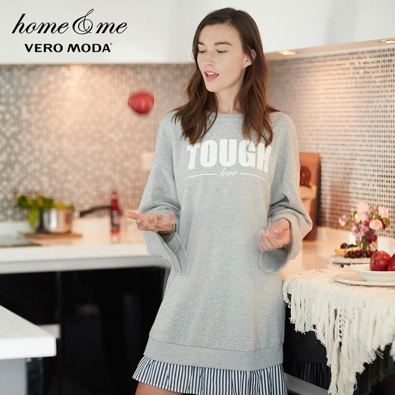 Vero Moda/Длинная женская домашняя одежда с буквенным принтом | 318160503