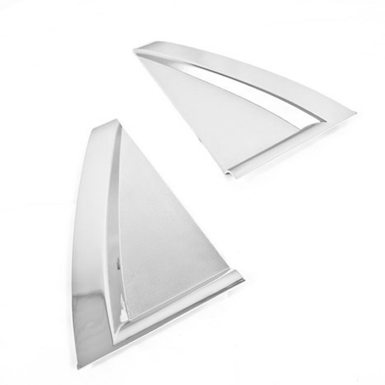 Chrome Styling C Pillar Window Cover Plate for KIA Sportage 08 10|window chrome|chrome kia sportage|kia sportage chrome - title=