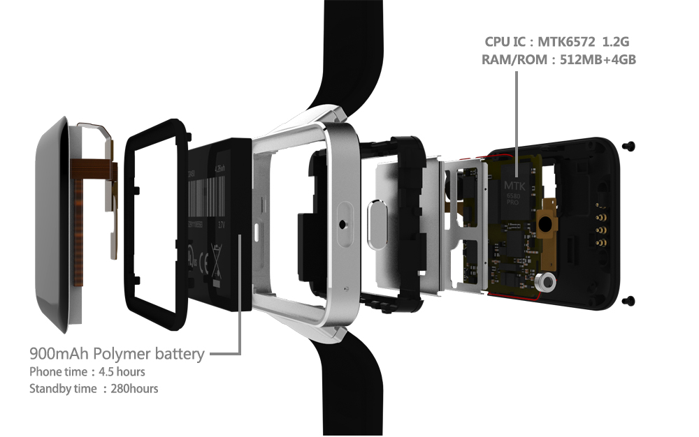 3G smart watch (7)