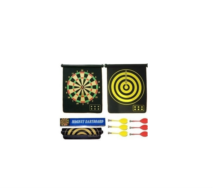 flocking magnetic dart board darts suit 15 inch double-sided darts plate of the six large safety dart needle for wholesale