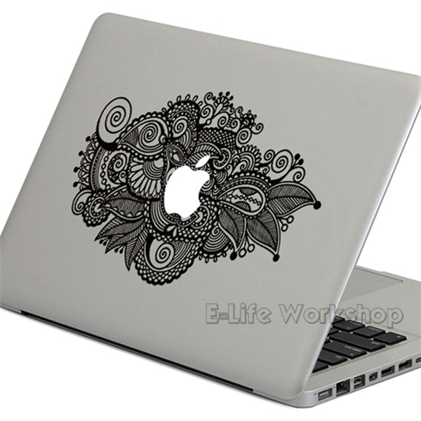 Multi Pattern Flowers Printing Laptop Sticker Skin For Macbook Pro/Air/ Retina 11 13 15 Inches stickers-in Laptop Bags & Cases from Computer &  Office on ...