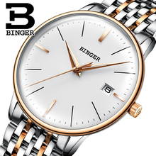 BINGER Mechanical Men watch Luxury Brand Mens Automatic Watches Sapphire Wristwatches Male Watch Waterproof Reloj Hombre B5078MZ