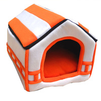 Dog Bed Foldable Soft House Pet Bed Exploding Kittens Small Medium Kennel Puppy Beds Cat Nest Mat Products Outdoor ATB 158