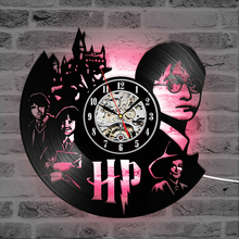 Harry Potter Theme Wall Hanging Clock
