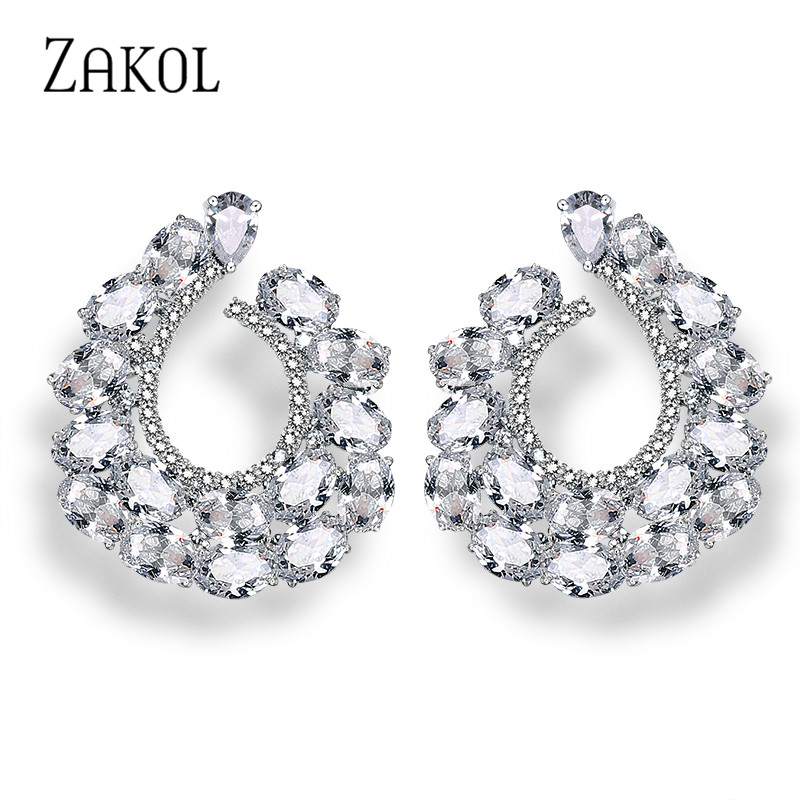Buy cc earrings crystal and get free shipping on AliExpress.com 0bb0b81c8837