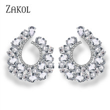 e3de47fe75 Buy cc earrings crystal and get free shipping on AliExpress.com