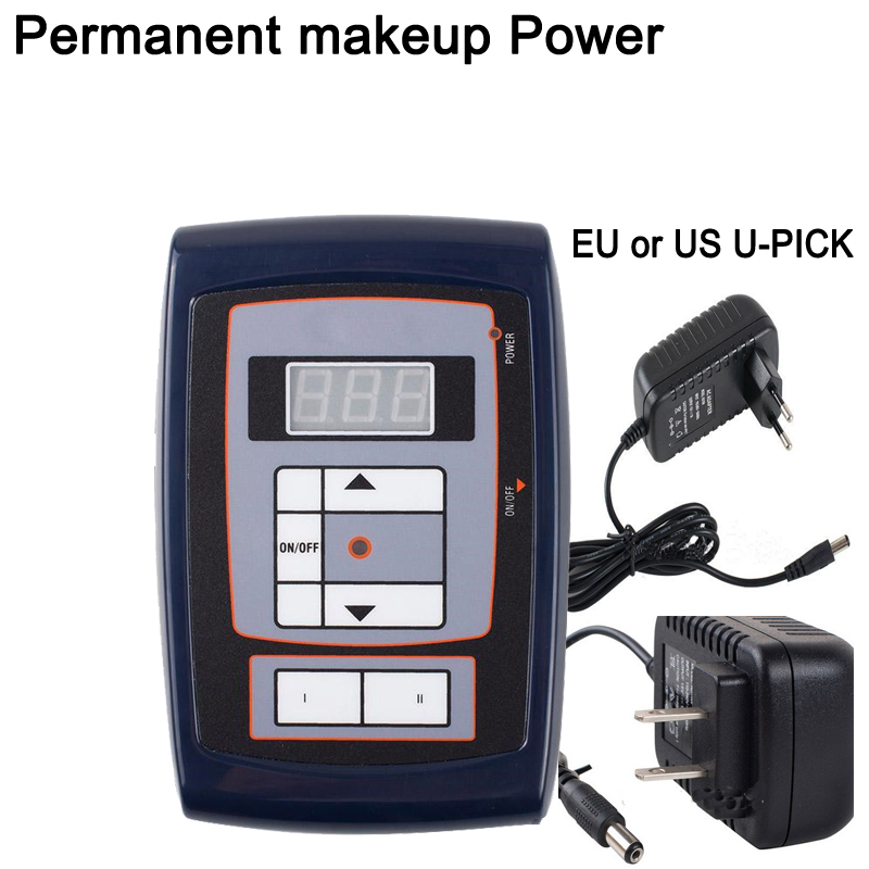 2017 New Permanent makeup power supply LCD Digital for Eyebrow Lips Tattoo Machine Power Kit Supplies Free Shipping2017 New Permanent makeup power supply LCD Digital for Eyebrow Lips Tattoo Machine Power Kit Supplies Free Shipping