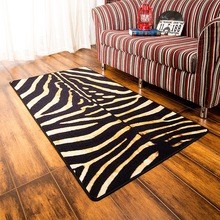 Fashion European and American style Sexy Tiger skin mat Bedroom rug living room short velvet plush carpet Non-slip door