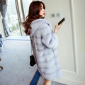 Genuine mink fur coat women real fur coats high end luxury mink fur jacket top quality mink marten overcoat New Phoenix