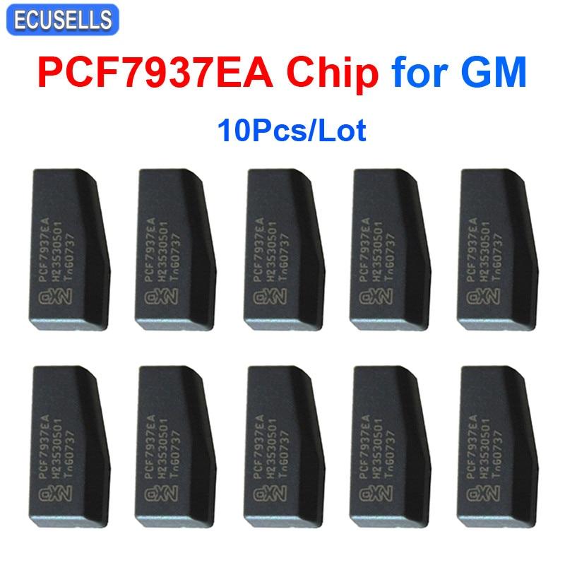10 Pcs Lot Car Key Chip PCF7937EA PCF7937 Carbon Auto Transponder Chip 7937 7937EA Chip for