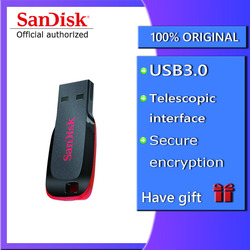Sandisk CZ50 USB Flash Stick Verschlüsselung Mini Auto USB Stick 8 GB 16 GB 32 GB 64 GB 128 GB memory Stick Pen Drives Stick