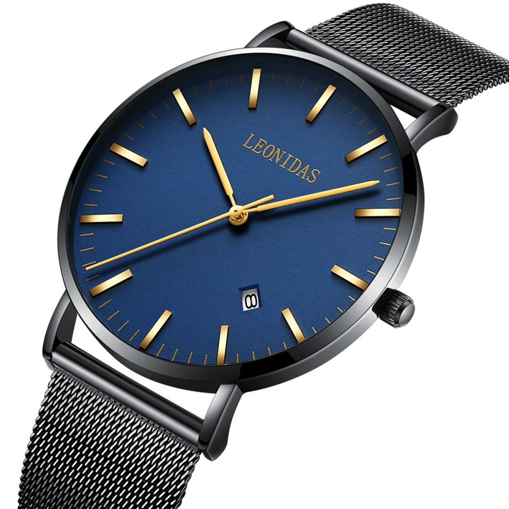 Ultra Thin New Men Watches Top Brand Luxury 50m Waterproof Date Clock Male Steel Strap Casual Quartz Watch Men Wrist Sport Watch men watches top brand luxury waterproof ultra thin date black clock male steel strap casual quartz watch men sports wrist watch