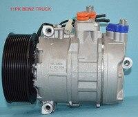 7SBU16C 9pk 24v 135mm 5412301211 447170-9112 5412300611 compressor for  mercedes benz Trucks Axor Actros