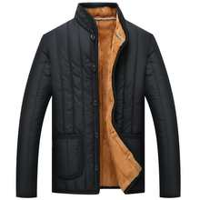 New pack cotton male winter warm man cotton-padded clothes add flocking thickening cotton-padded jacket(China)