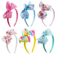 New Big Bow Headband Hairband For Women Girls Hair Bows Grosgrain Ribbon Handmade Accessories