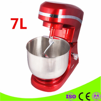 Household 7L Food Mixer Blender 1000W Automatic Egg Mixer Commercial Cook Machine Small Stirring Dough Kneading