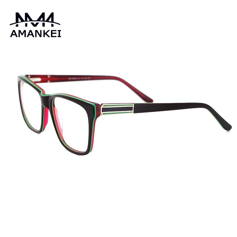 AMANKEI NEUE ANKUNFT Brillen Rahmen Frauen 2017 trendy Damen brille ...