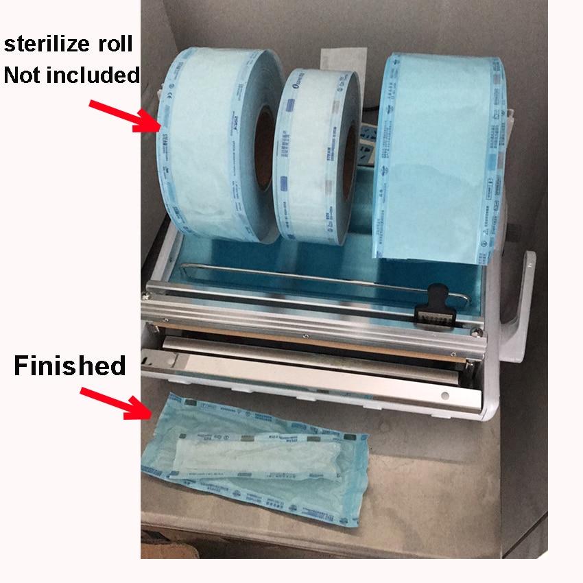 Office Electronics Creative Medical Sealing Machine Dental Sterilization Pouch Wrap Sealer Laminator Medical Sterilize Roll Packing Laminating Machine