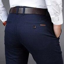 NIGRITY, новинка, мужские повседневные базовые брюки, деловые брюки, прямые, с карманами, детали, брюки, Стрейчевые брюки, мужские, большой размер 42