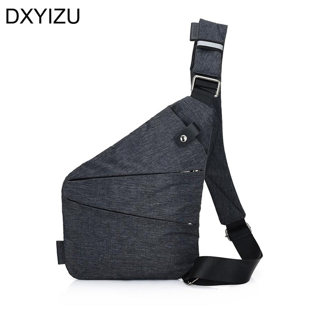 Anti Theft Men S Messenger Bag Shoulder Bags Hidden Chest Pack Mens Retro Crossbody