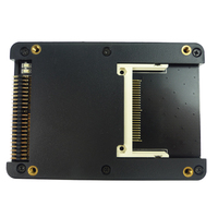 CF Card to IDE HDD Adapter Dual CF to IDE Converter 2.5 CF IDE Controller Adapter Card with case