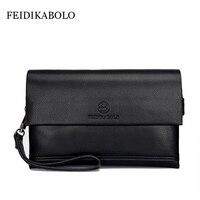FEIDIKA BOLO Brand Wallet Men Clutch Bag Fashion Leather Purse Carteras Men S Handy Bags Purse