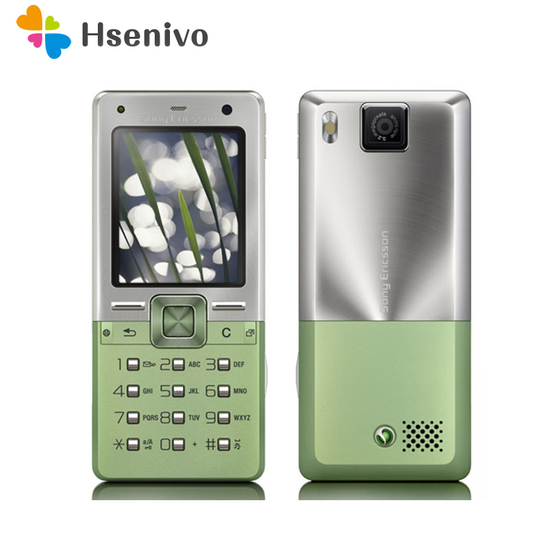T650 100% Original Unlocked Sony Ericsson T650i Mobile Phone 1.9'inch 3G 3.15MP Bluetooth FM Unlocked Cell Phone Free Shipping