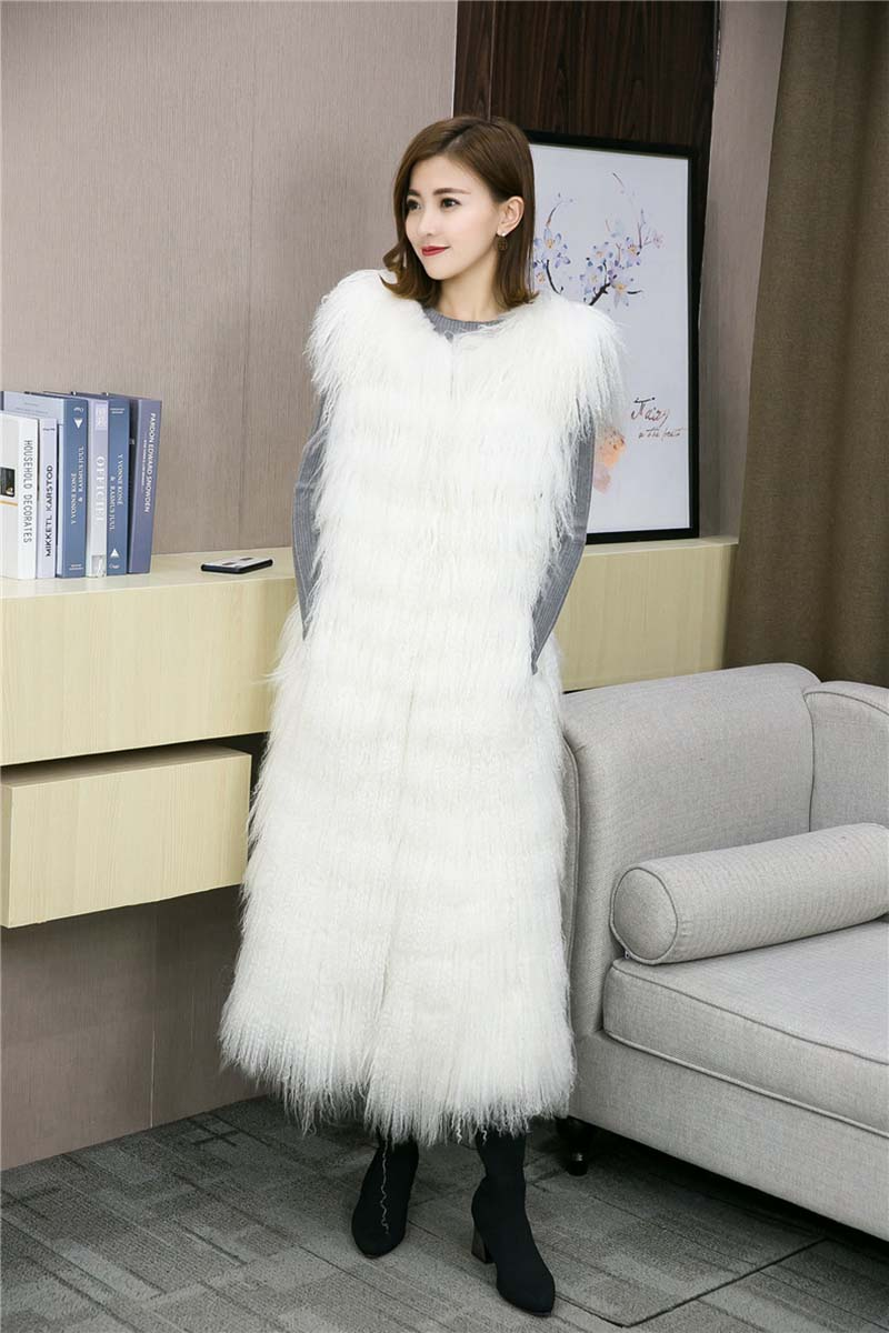 Tibet lamb fur vest long (12)