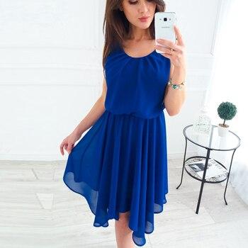 Shein Azul Estampado Floral Doble V Escote Cami Verano