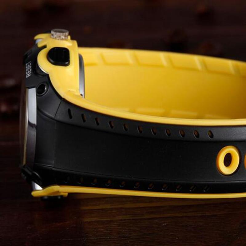 OHSEN Marca de Moda Reloj de Goma Hombres Deporte Impermeable 30 M - Relojes para hombres - foto 5