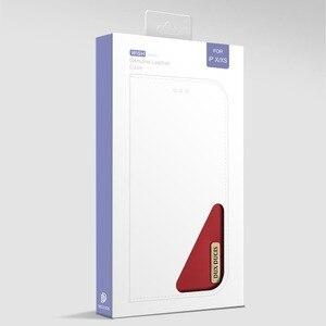 Image 5 - 100% Hakiki Lüks Flip PU Deri Silikon iPhone için kılıf Xs Kılıf Koruyucu Telefon Çanta Kapak iPhone X Için Cüzdan Kılıf Coque