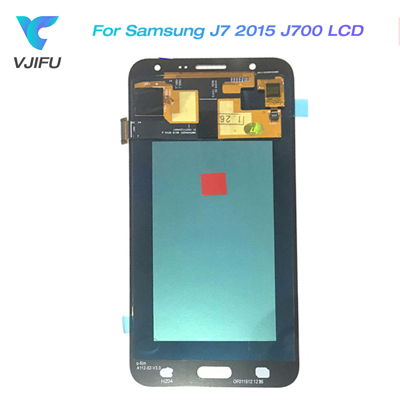 5.5 J7 LCD for SAMSUNG Galaxy J7 2015 J700  J700F J700H Screen Replacement LCD Display Touch Screen Digitizer Assembly5.5 J7 LCD for SAMSUNG Galaxy J7 2015 J700  J700F J700H Screen Replacement LCD Display Touch Screen Digitizer Assembly