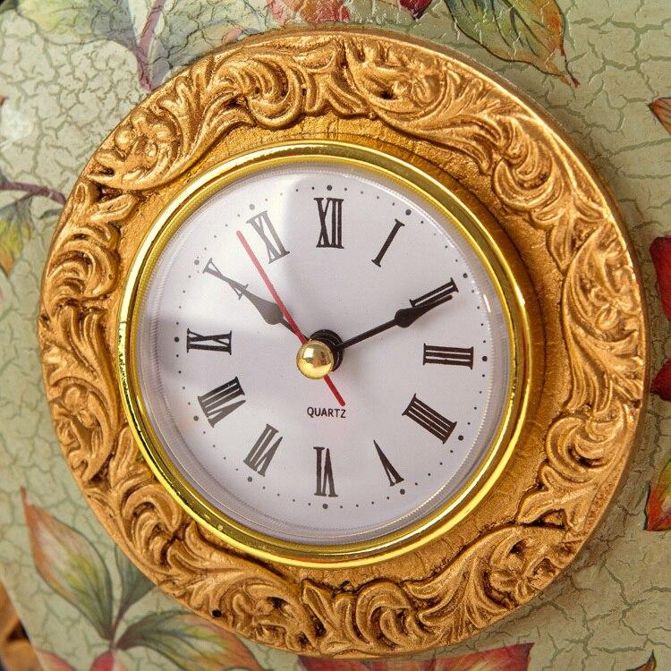 Horloge de bureau mode horloge de bureau classique vintage horloge kapok derlook technologie horloge
