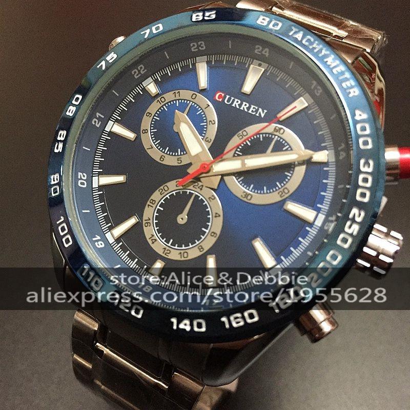 ff77f867925 Circular MODA Lazer Moda Homens Em Relógios De Luxo Grande Mostrador do  Relógio de Quartzo Neutro Assistir Negócio Da Moda Para O Homem À Prova D   Água