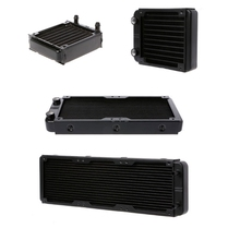 360/240/120/80mm Aluminum Computer Radiator Water Cooler 18 Tube CPU Heat Sink Exchanger