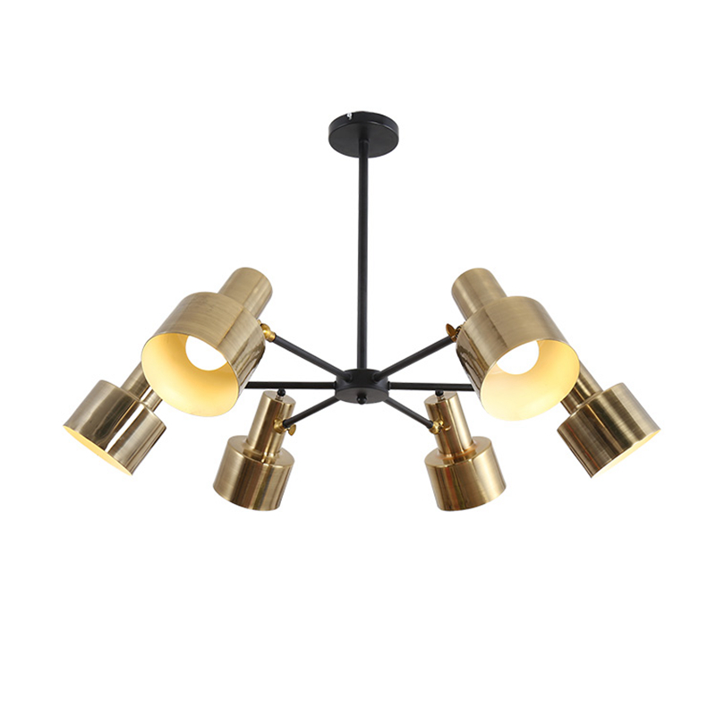 Pendant Light Modern 6 arm hanging Lights Kitchen Restaurants Bar Decorative Home LED Lighting Fixture Creative Dining Room Lamp nordic modern 6 arm pendant light creative stainless steel hanging lamps lifting rod foliving room dining room lamp home decor