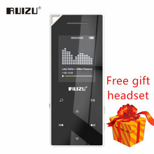 New product RUIZU D05 Mp3 bluetooth player 8Gb 16G storage 1.8 inch screen play high quality Fm radio e book music MP3 player