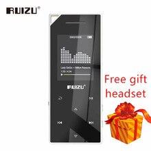 Nouveau produit RUIZU D05 Mp3 bluetooth lecteur 8Gb 16G stockage 1.8 pouces écran jouer de haute qualité Fm radio e book musique lecteur MP3