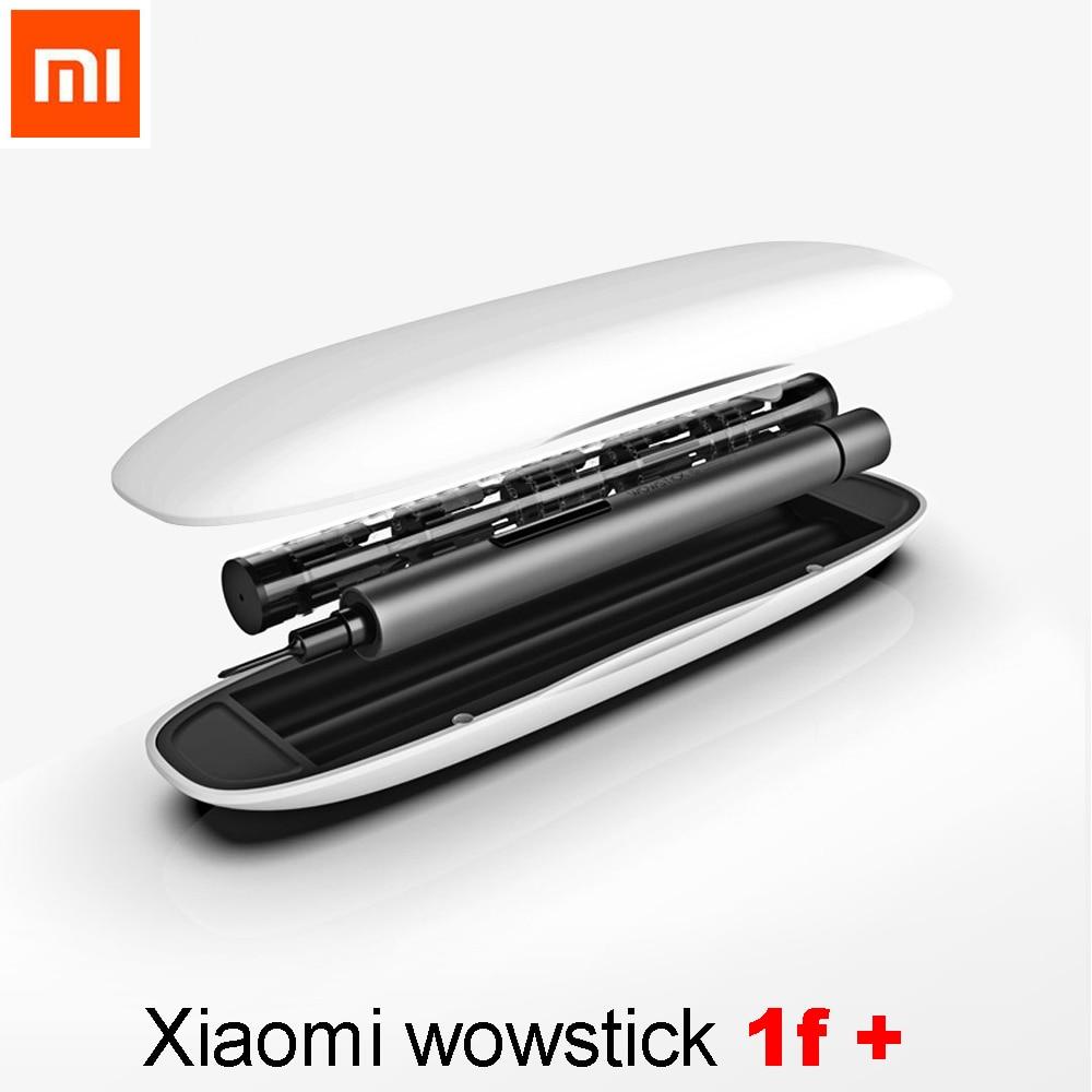 Original Xiaomi Wowstick 1f Home Essential Electric Screw Driver LED Light Aluminium Body Phone DIY Repair