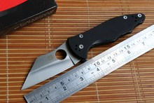 Jufule OEM Spyder Yojimbo 2 C85 G10 handle S30V blade Folding blade Knife camping hunting outdoor survive Knives multi EDC Tools