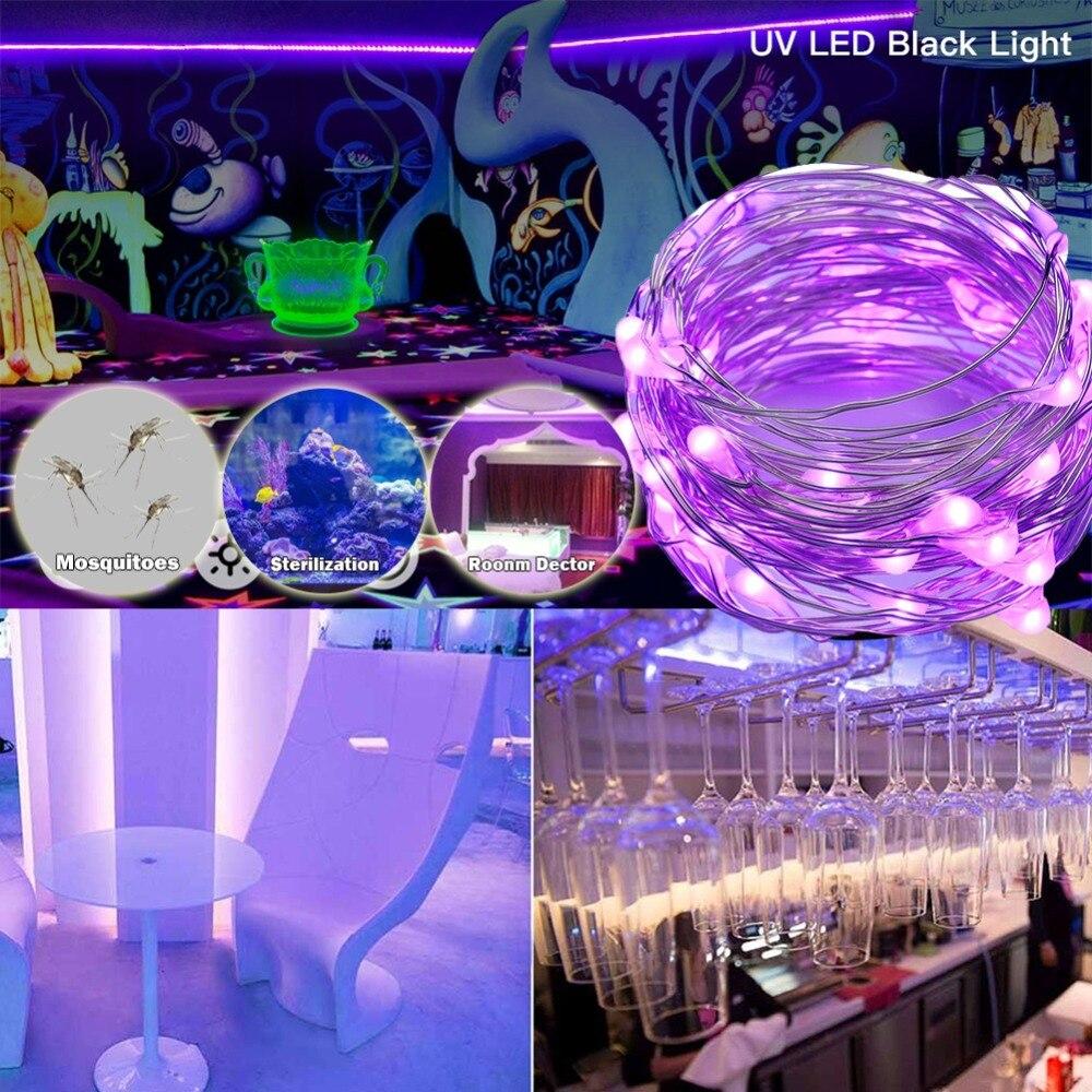 10M USB Bar Disco Dj LED Stage Light Effect String UV Lamp Ultraviolet Black Par Laser Party KTV Christmas Halloween Flashlight in Stage Lighting Effect from Lights Lighting