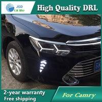 High Quality Daytime Running Light Fog Light High Quality LED DRL Case For Toyota Camry 2015