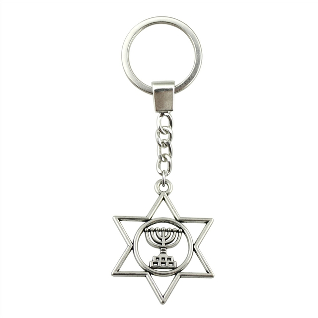 Keychain with Star of David