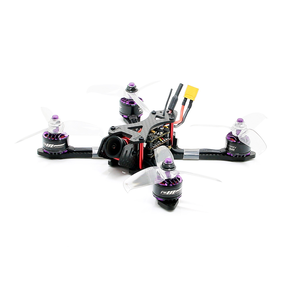 Original Remote Control Helicopters Toys Brushless FPV 800TVL Omnibus F4 FC 4 In 1 BLHeli - S 2 - 4S ESC DIY RC Drone Toy bs430 esc 30a 3 6s 4 in 1 blheli s firmware dshot 4x30a omnibus f3 f4 fly tower speed controller for fpv racer camera rc drone