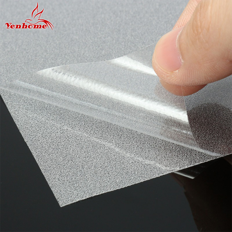40CM2M Self adhesive Decorative Film Frosted Glass Sliding Door Bathroom Window Glass Stickers