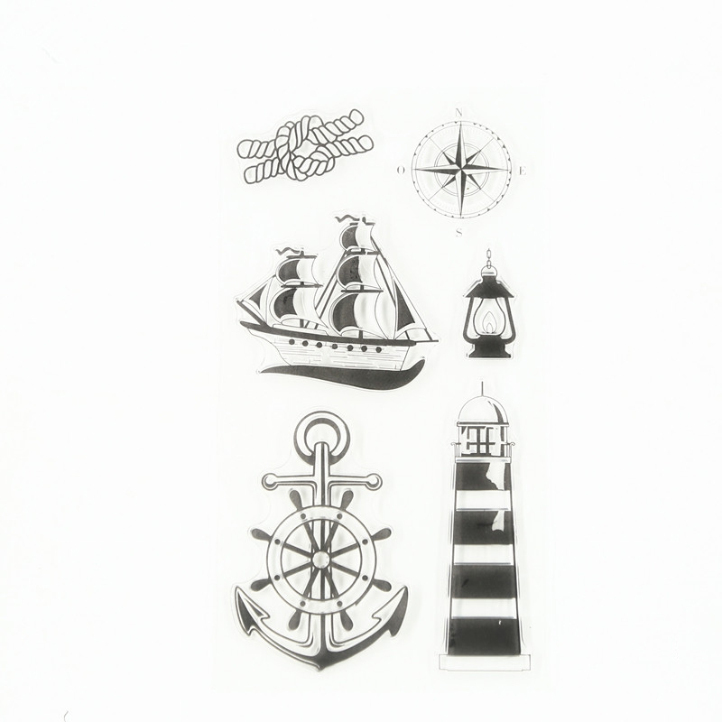 ship and trip in the sea Transparent Clear Silicone Stamps DIY Scrapbooking Kids Christmas for Fun paper card craft TM-046 bertsch power and policy in communist systems paper only